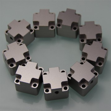 CNC aluminum machined & milled