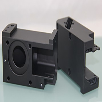 Black anodized Cavity Aluminum, Machining Parts