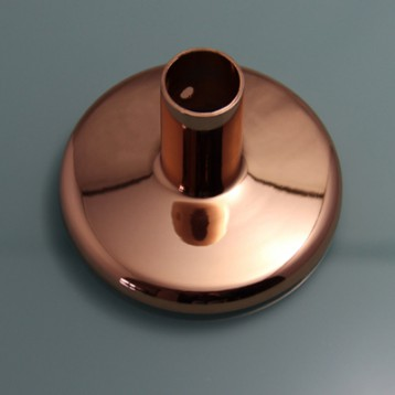 Aluminium Electroplating rose gold